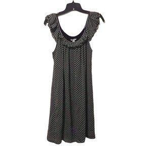 Old Navy Sheer Flutter Sleeve Dress M
